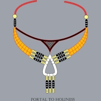 Portal to Holiness - A Micro-Macrame Jewelry Design